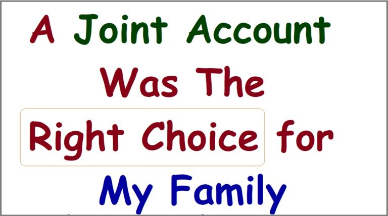 Joint Bank Accounts