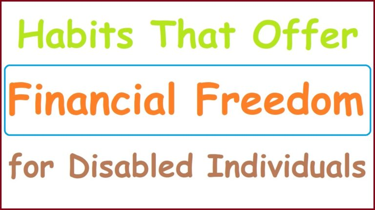 Financial Freedom for Disabled Individuals