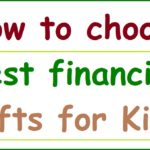 best financial gifts for kids