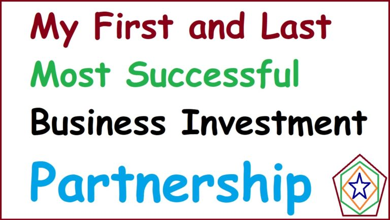 Most Successful Business Investment Partnership